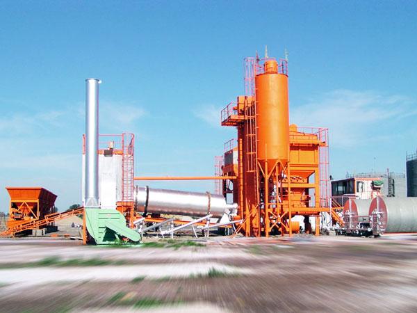 QLBY-20 asphalt mixer plant