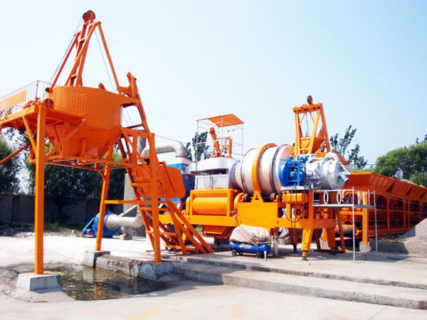 qlby20 asphalt mixing plants