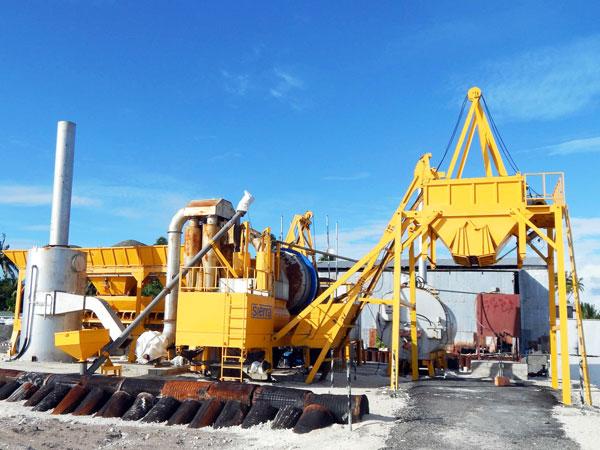 qlby30 mobile asphalt plant