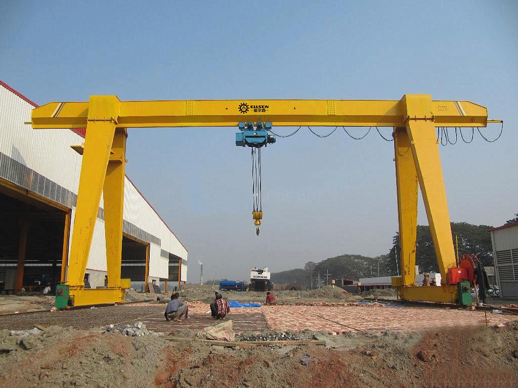 single girder gantry crane 10 ton