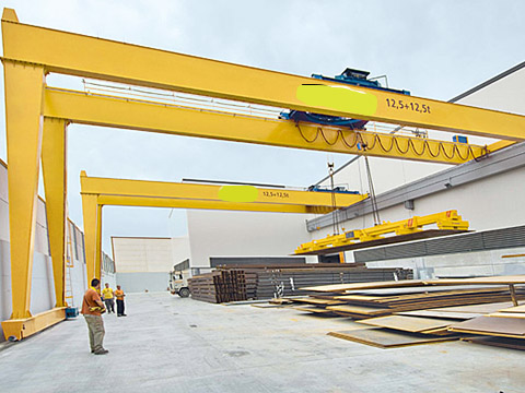 8 ton semi gantry crane for sale
