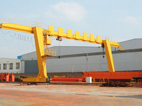 8 ton single girder gantry crane for sale