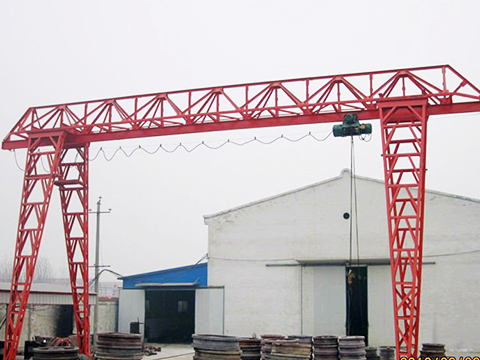 8 ton truss gantry crane suppleir